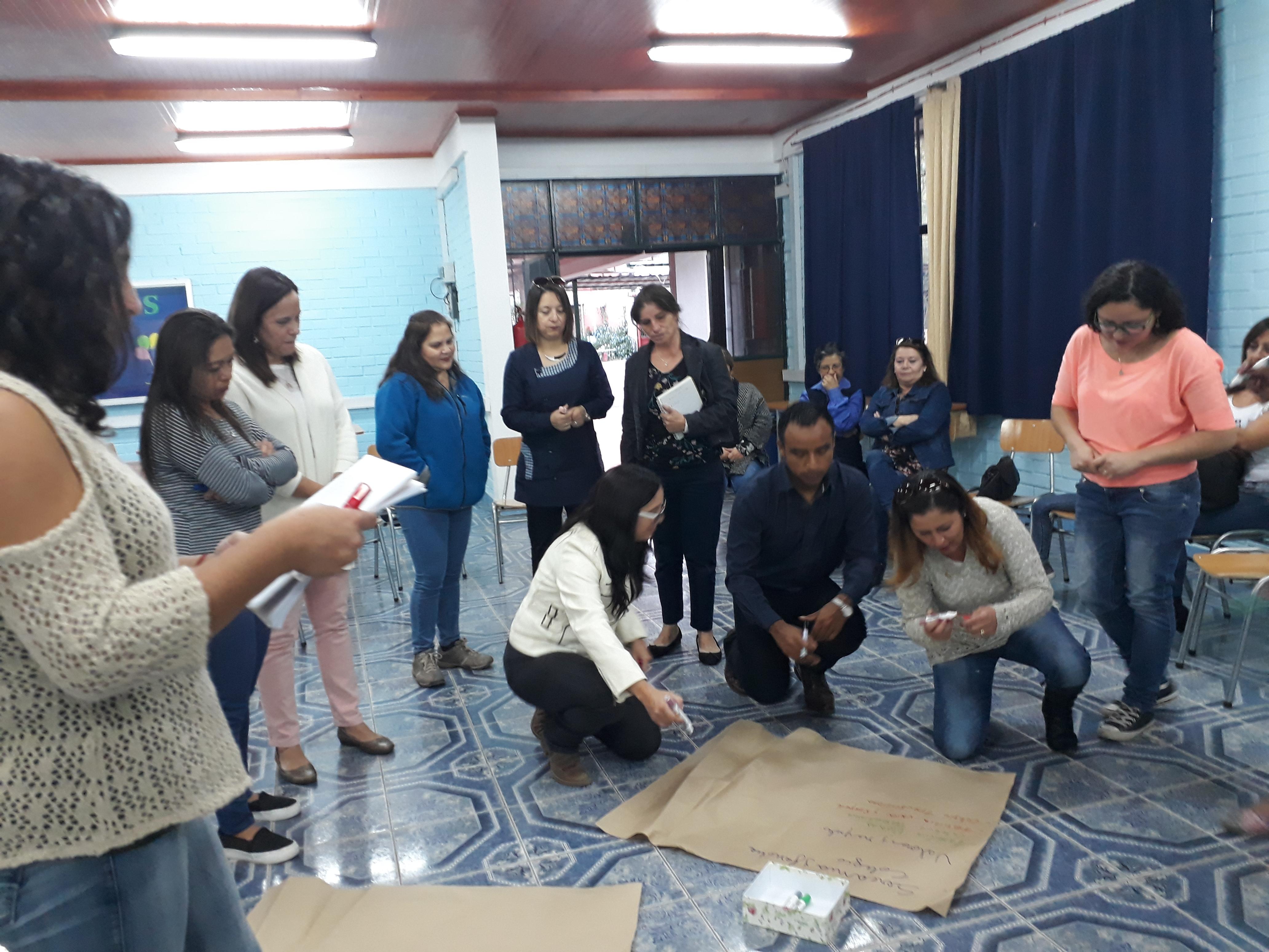 Pastoral Familiar Apoderados Colegio Colegio Inmaculada Concepción Nuestra Señora de Lourdes Peñaflor